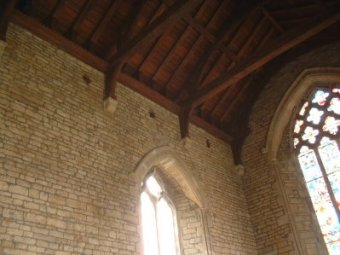 St Andrew's Interior - Chancel Acoustic Jars